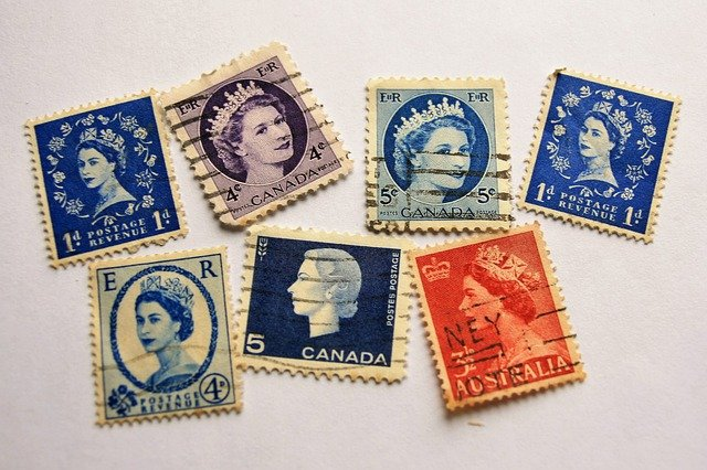 známky do sbírky