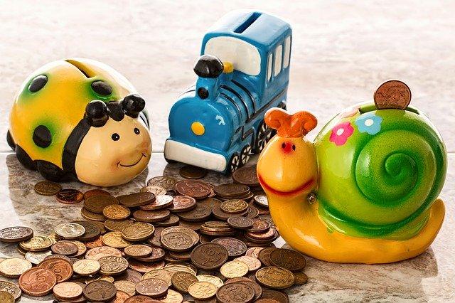 pokladničky na mincích