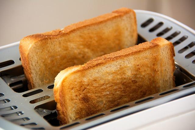 toasty v opékači