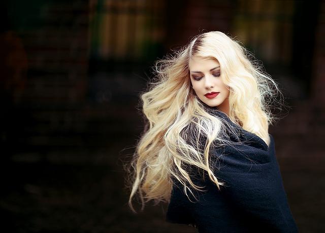 blondýna v dece