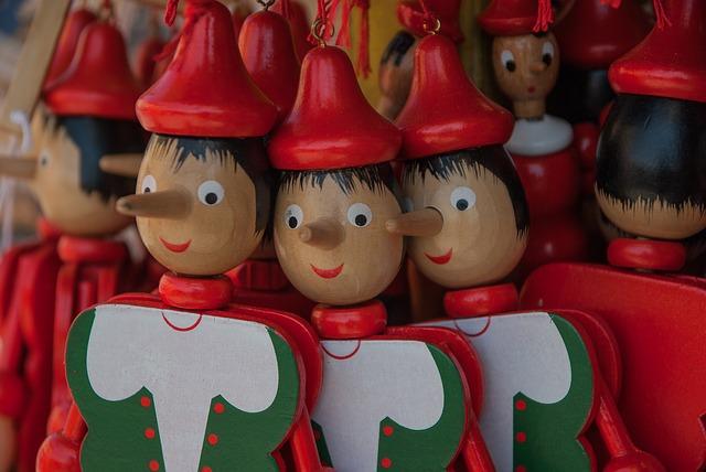 figurky Pinocchio